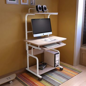 Home Furniture Mobile Wooden Computer Desk for Student