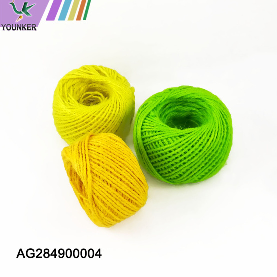 High Quality Multi Colored Jute Rope For DIY