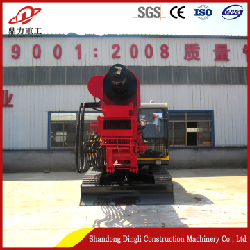 Dingli manufactures  crawler augers drill rig