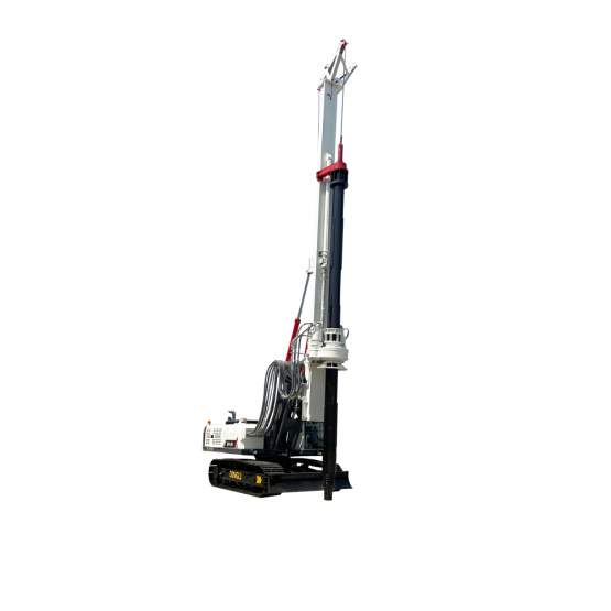 New white 20m rotary drill-rig exported to Vietnam
