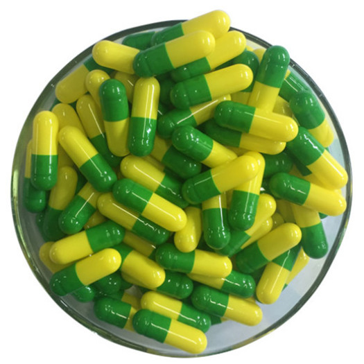 Health supplement hard empty gelatin capsule