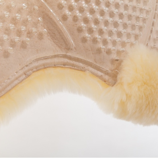 Transparent gel pad with complete original sheepskin-Normal