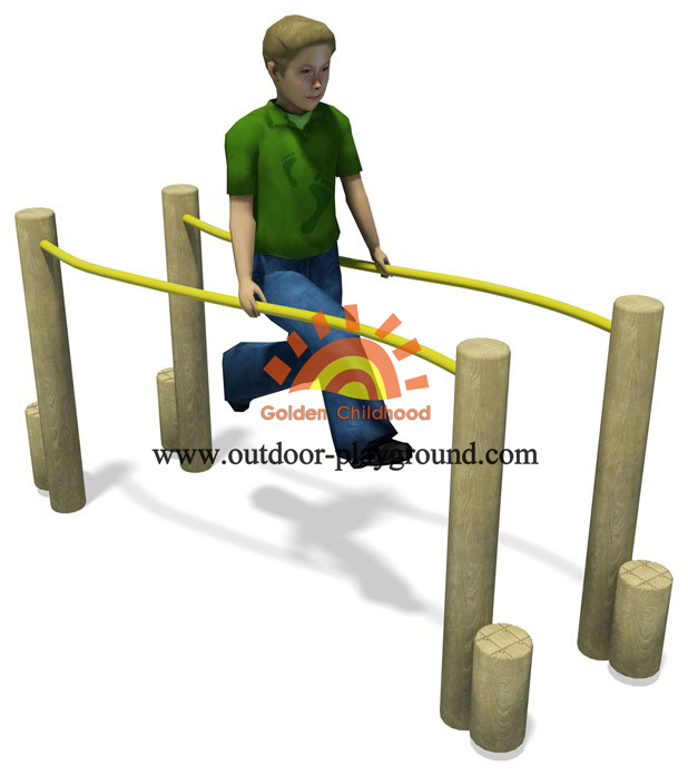 Parallel Bars Outdoor Playground