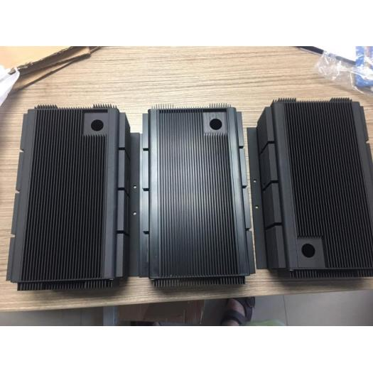 Aluminum Extrusion Anodized Light Power Box
