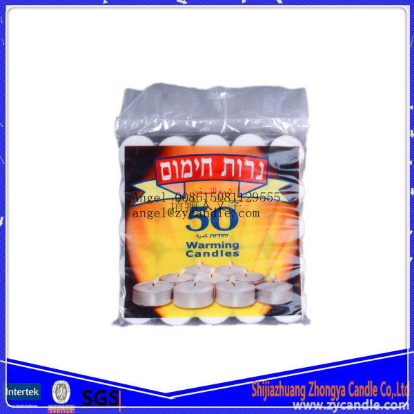 Isreal market full use tealight candle