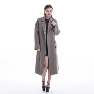 New styles Camel cashmere overcoat
