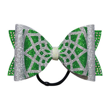 7 inch height youth dance team hair bows