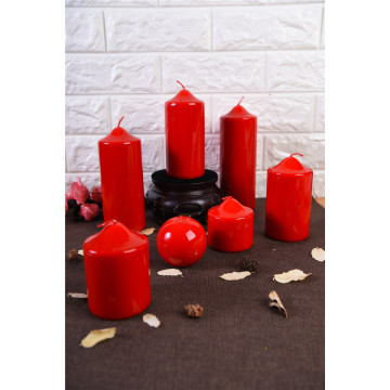 The Most Popular Shinny Pillar Candle