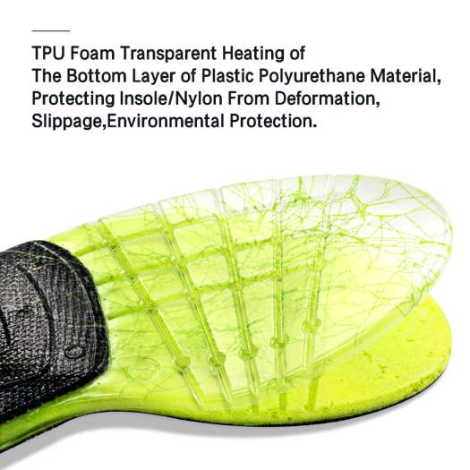 High arch support TPU Shoe Insert orthotic insole
