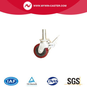 PVC Scaffolding Casters with brake