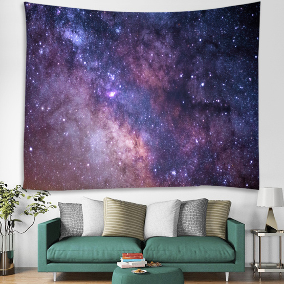 Starry Tapestry Galaxy Tapestry Night Sky Wall Hanging 3D Printing Tapestry Psychedelic Wall Art for Living Room Bedroom Home Do