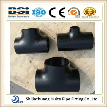 Black Steel A 234 WPB Tee Pipe Fitting