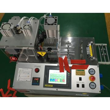 Automatic Tape Angle Cutting Machine with Hole Puncher