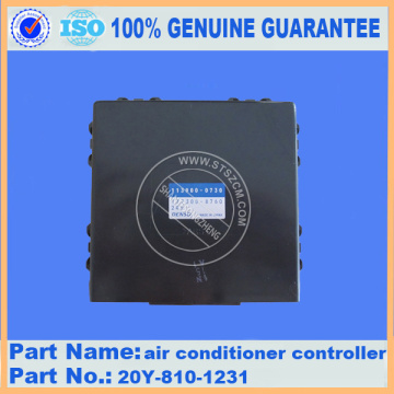 air conditioner controller 20Y-810-1231 PC200-8 komatsu parts