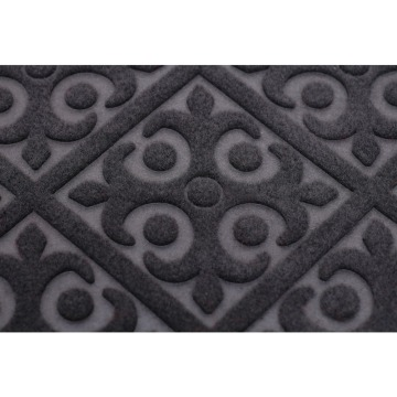 High quality cut pile welcome door mat