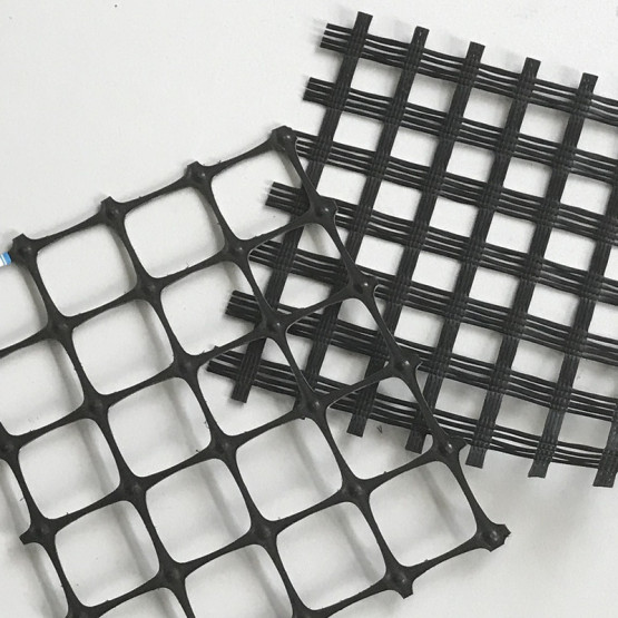 Polyester Biaxial Geogrid With CE Certificate