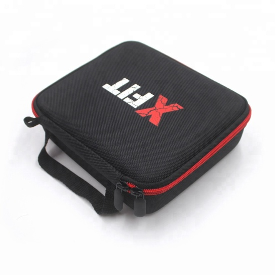 Ultra-portable hard travel EVA electrical tools box with spider print logo design