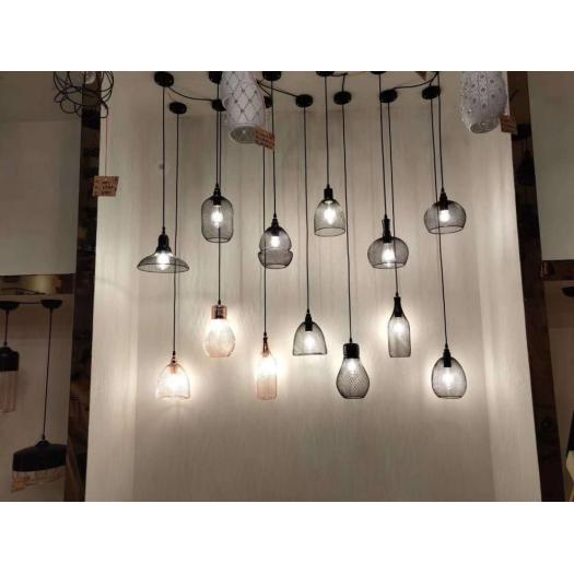 Hot Sale black Popular Modern Iron Pendant Lights