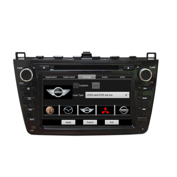 Mazda6 Ruiyi 2008-2012 car dvd player