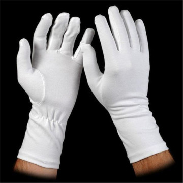 White Color Walmart Usher Worker Gloves