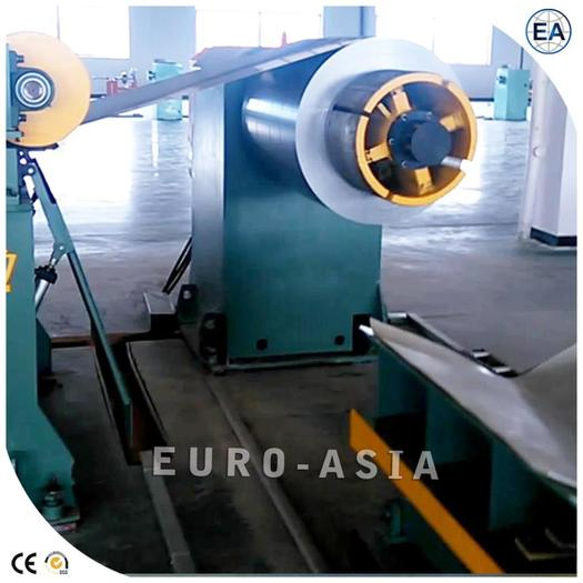 Shearing And Cutting Line For Transformer Lamination