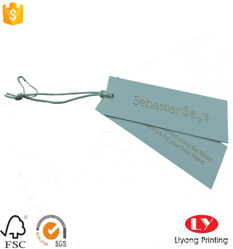 swing tag for clothes