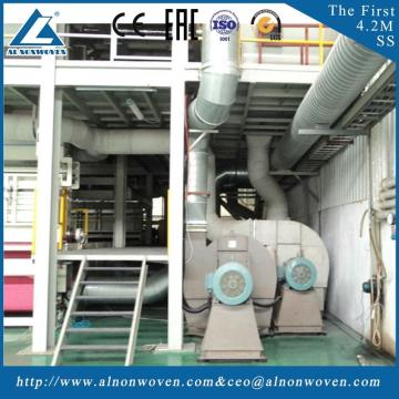 Best automatic AL-3200 SS 3200mm nonwoven fabric making machine with great price