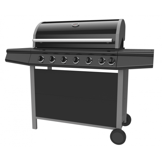 Six Burner Outdoor Gas Grill