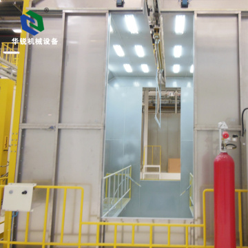 Best Economic High Efficiency Automatic Powder Spray Booth