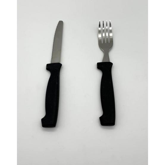 8pcs steak knife and fork set