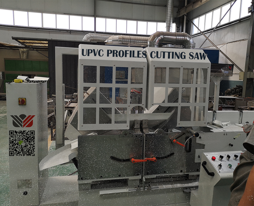 UPVC Profiles cutting saw