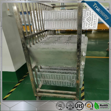 aluminum water cooling sheet for heat exchanger