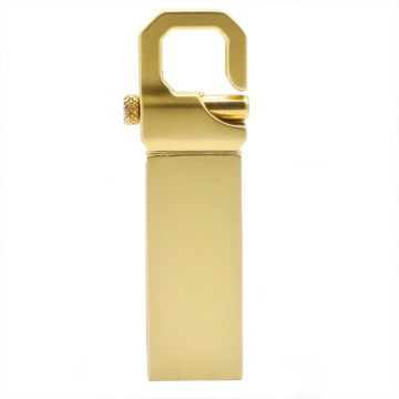 Gold Metal USB flash drive