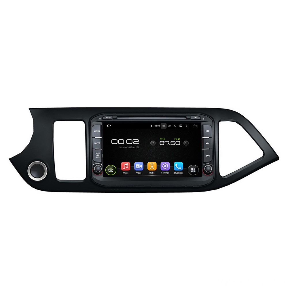 android car multimedia system for Morning 2014