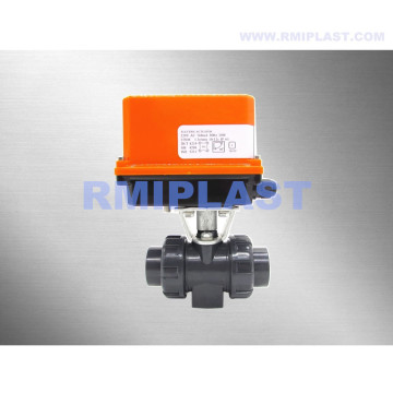 Electric Ball Valve UPVC With Limit Switch