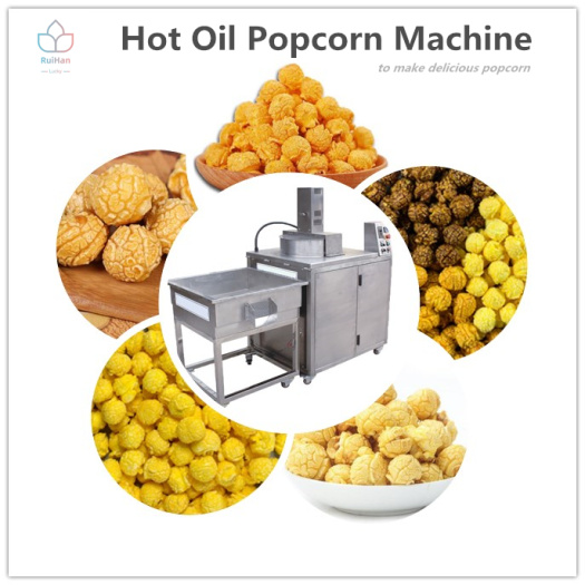 how to make popcorn in a popcorn machine