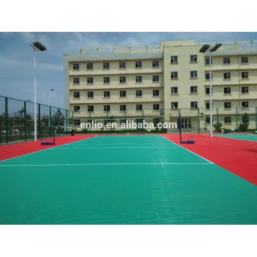 pp interlock tiles/outdoor plastic flooring with CE SGS