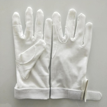 Cotton Knitted Riding Gloves