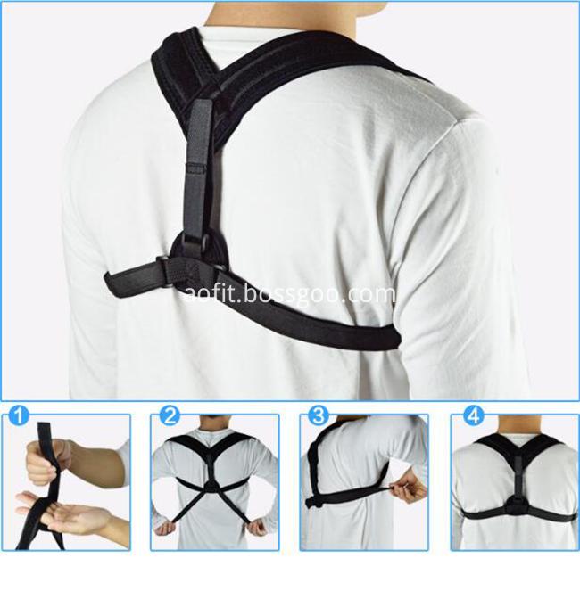 correcteur de posture du dos