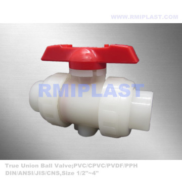 Lever Type PVDF Ball Valve Socket Welding