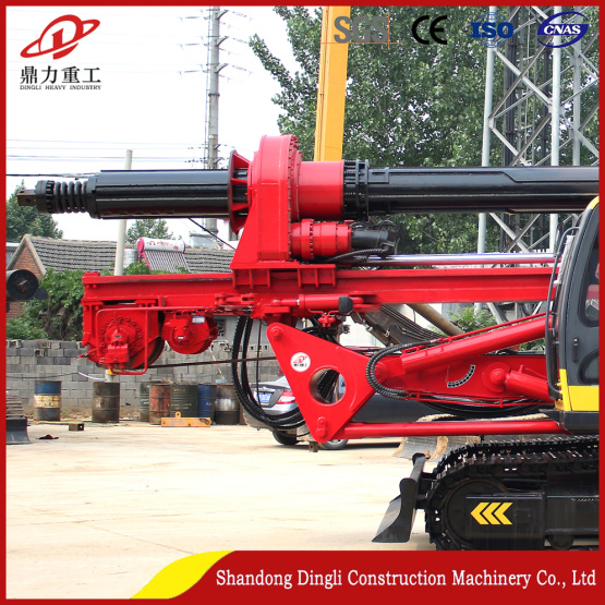 Drilling rig 20m concrete foundation exported to Vietnam