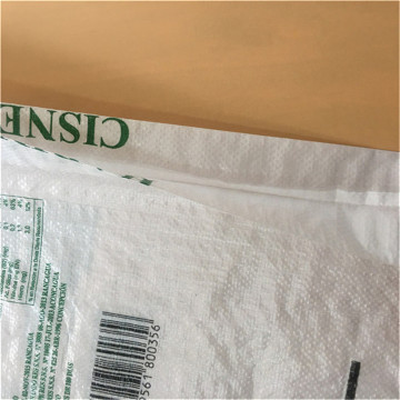 pp plastic valve bag with offset printing