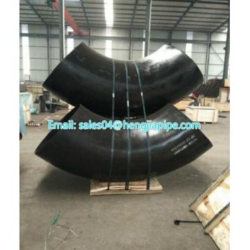 welding elbow 90deg bevel end black color