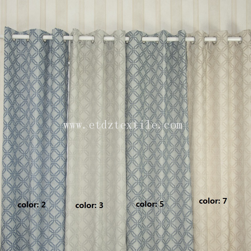 colorful curtains 6024