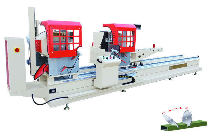 Digital-display Double-head Precision Cutting machine