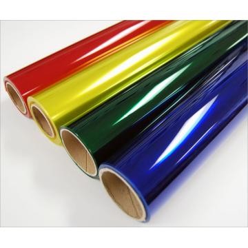 PE waterproof coloured plastic wrap film roll