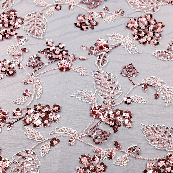 high quality sequins fabric lace