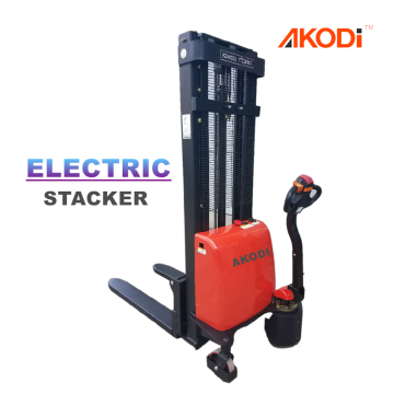 Compact Walkie Electric Pallet Stacker 1 Ton