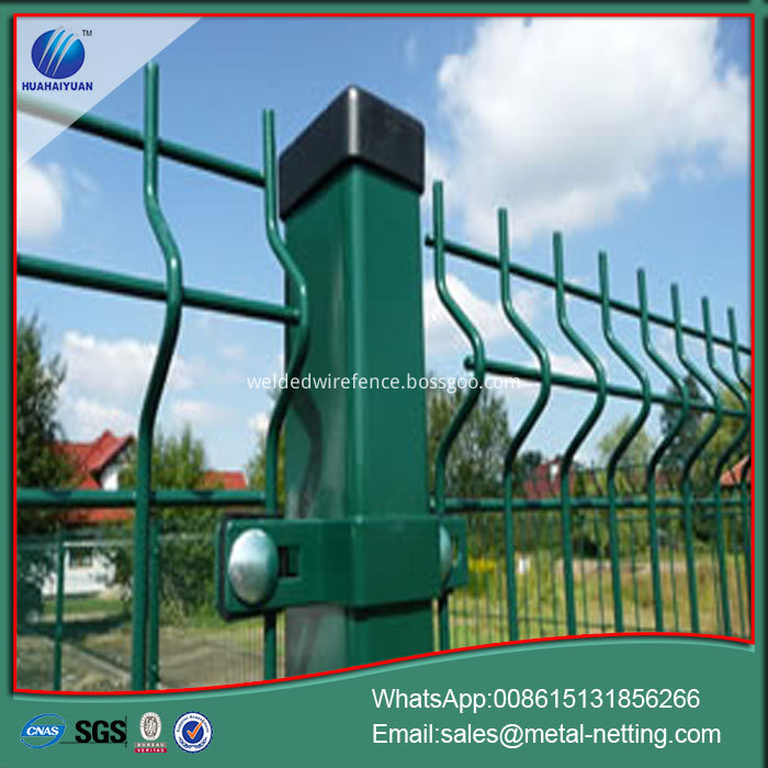 2D Welded Mesh Fence