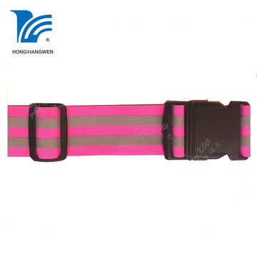 Custom Safety Reflective Waist Belt For Running